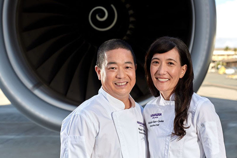 Hawaiian Airlines Appoints New Executive Chef Team and Featured Chef Members