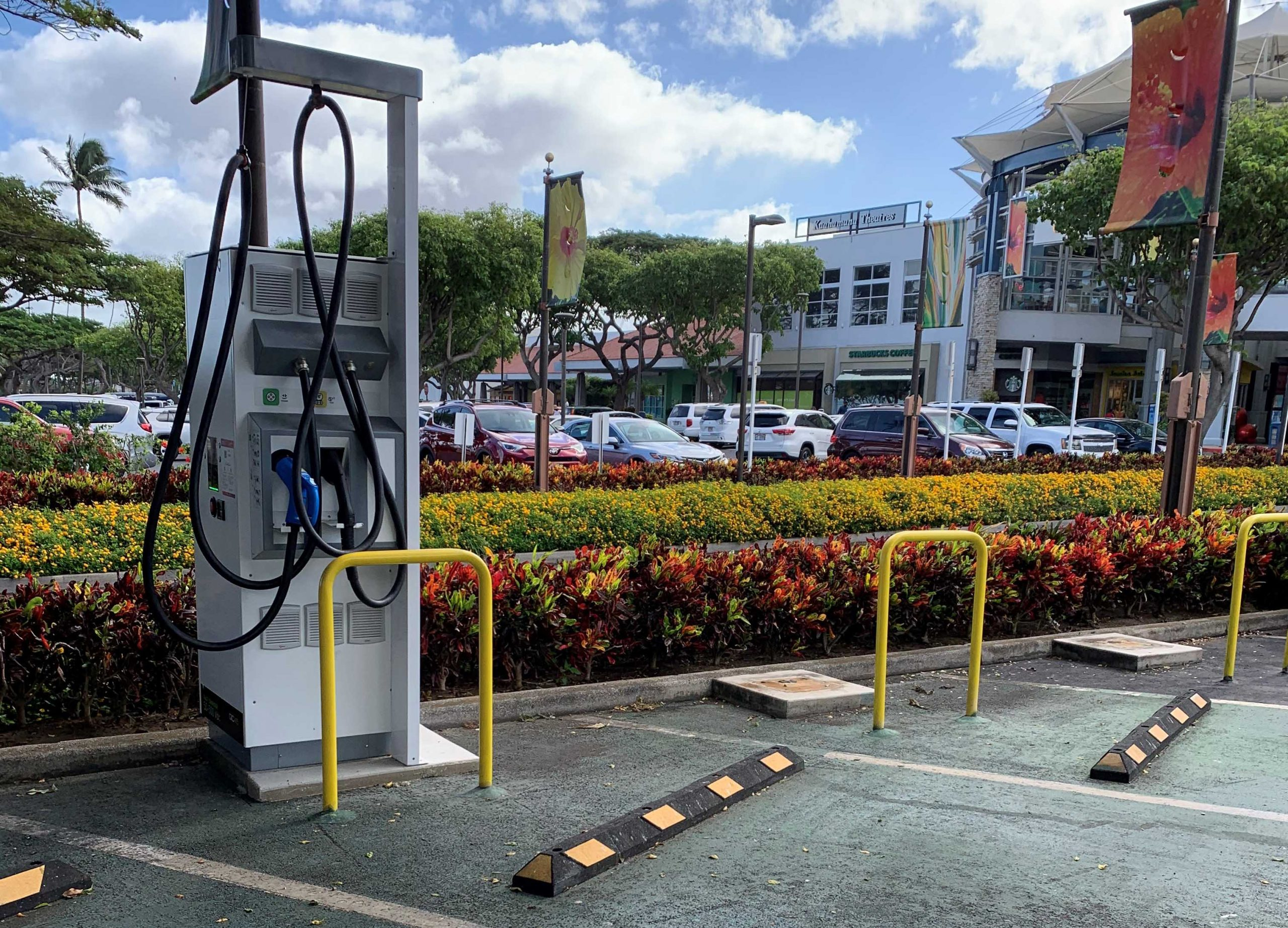 Hawaiian Electric Adds Four New EV Fast-Charging Stations on Maui