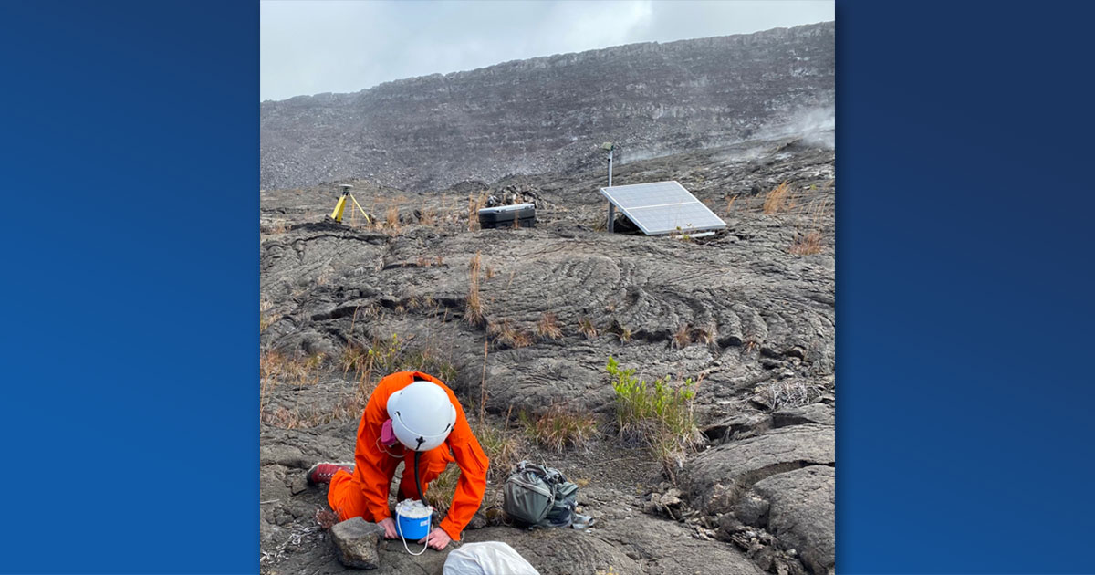 Volcano Watch — Using the Ocean to Track Volcanic Activity at Kīlauea