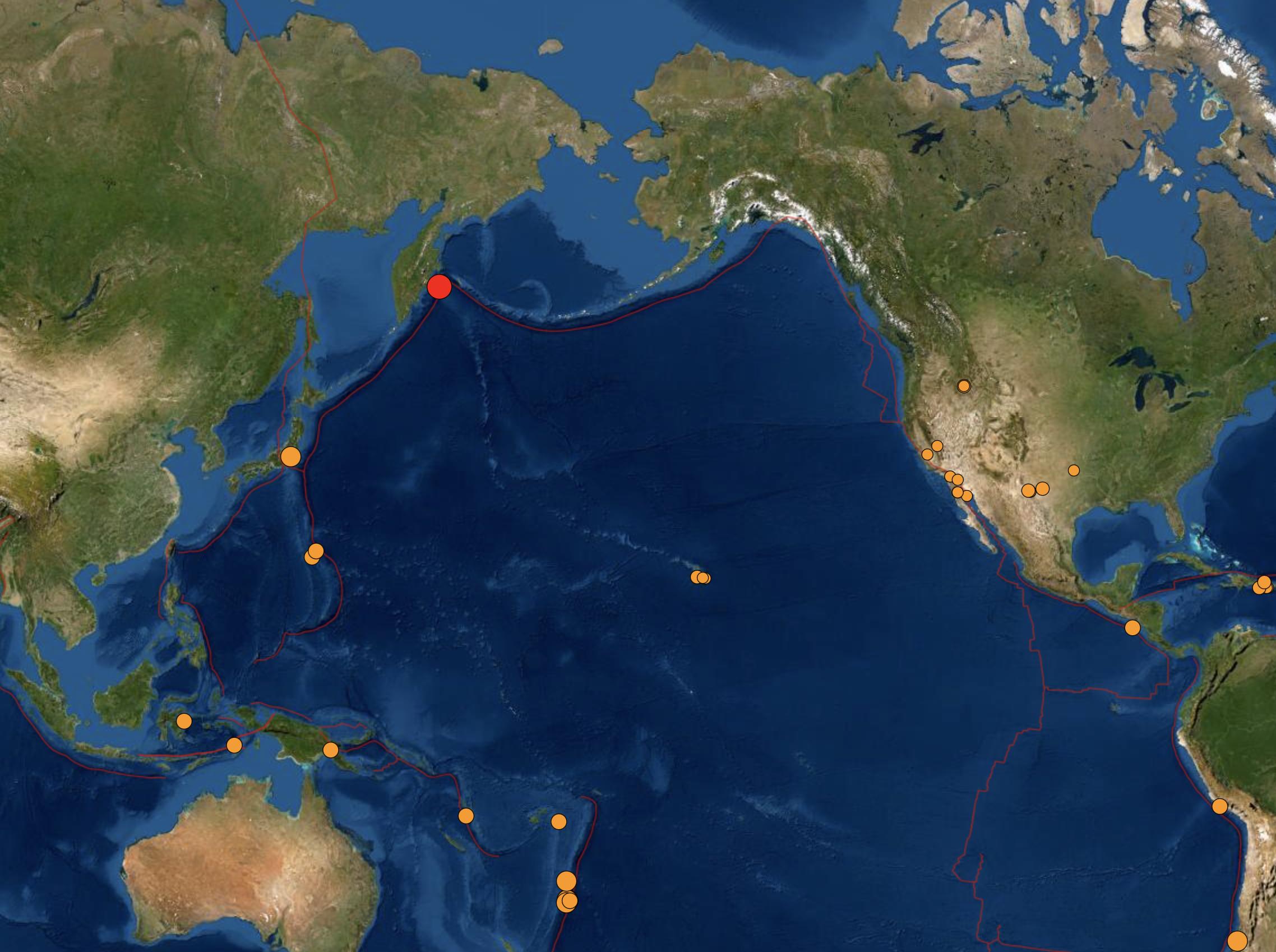 No Tsunami Threat to Hawai'i After 6.9 Russia Earthquake