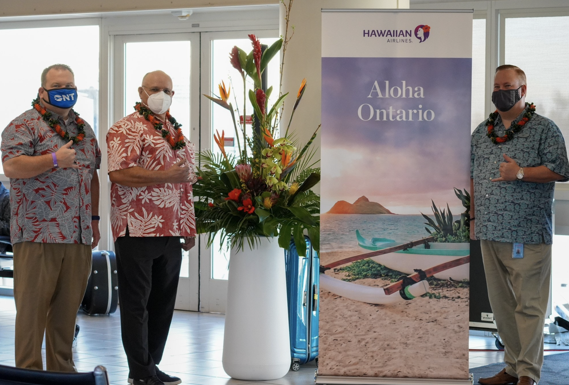 Ontario is 2nd Airport Certified as Trusted Testing Partner for Hawaiʻi Bound Travelers