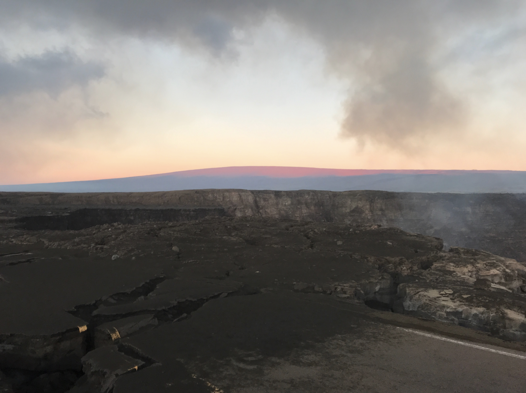 Swarm of 130 Small Earthquakes Detected at Mauna Loa