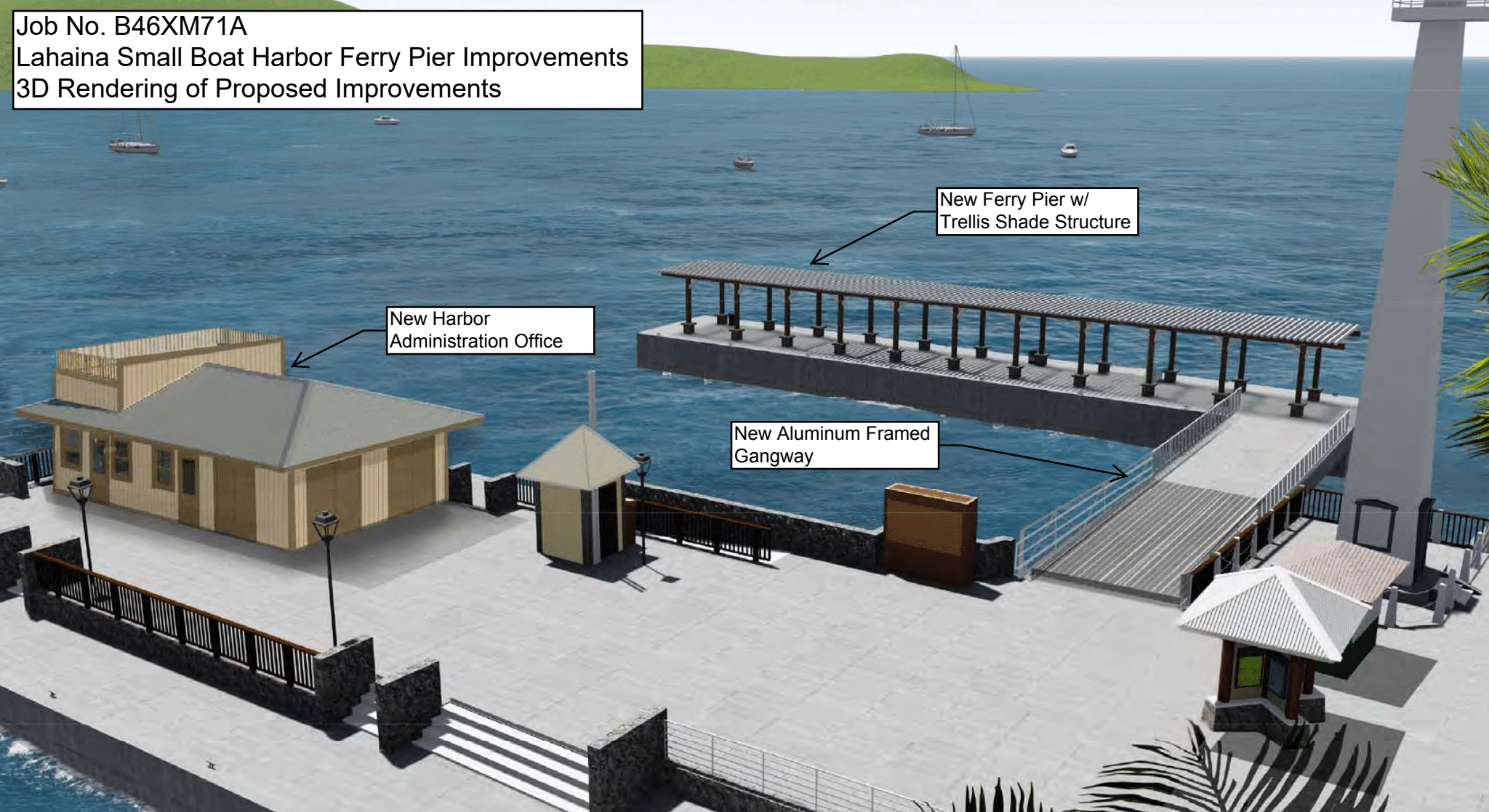 $18M Ferry Pier Improvement at Lahaina Small Boat Harbor to Start April 5