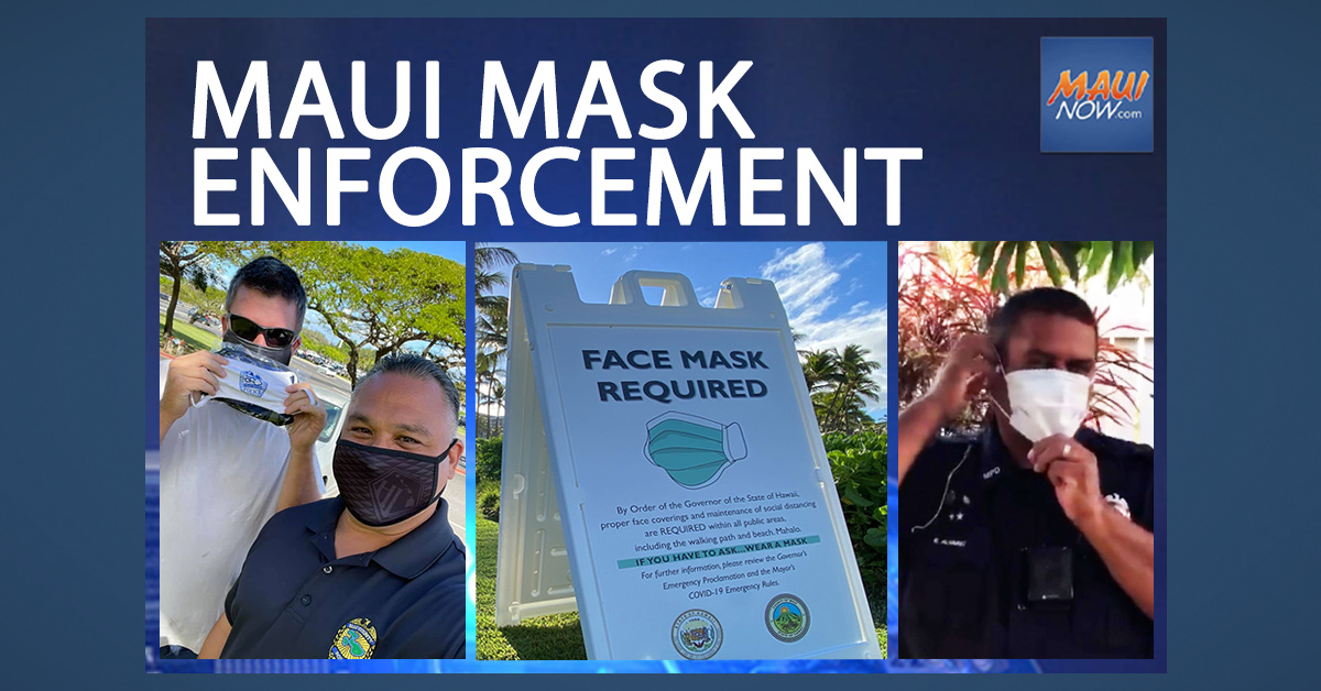 189 Citations Over Two Weeks During Maui Mask Enforcement