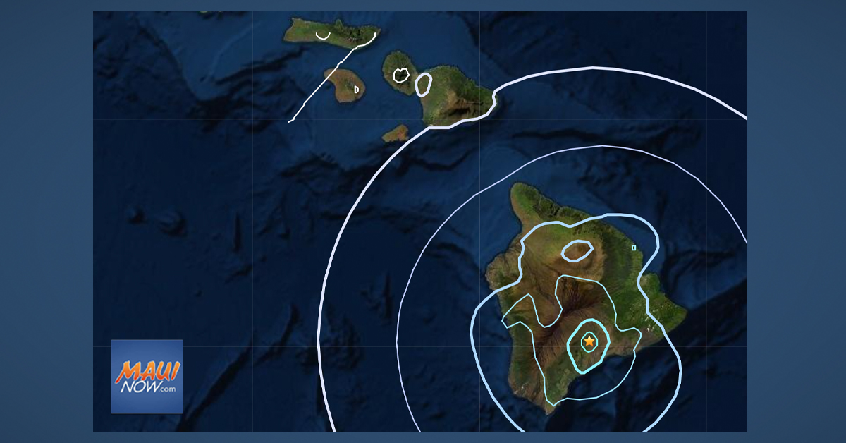 4.2 Mauna Loa Earthquake Had No Apparent Effect on Hawaiʻi Volcanoes