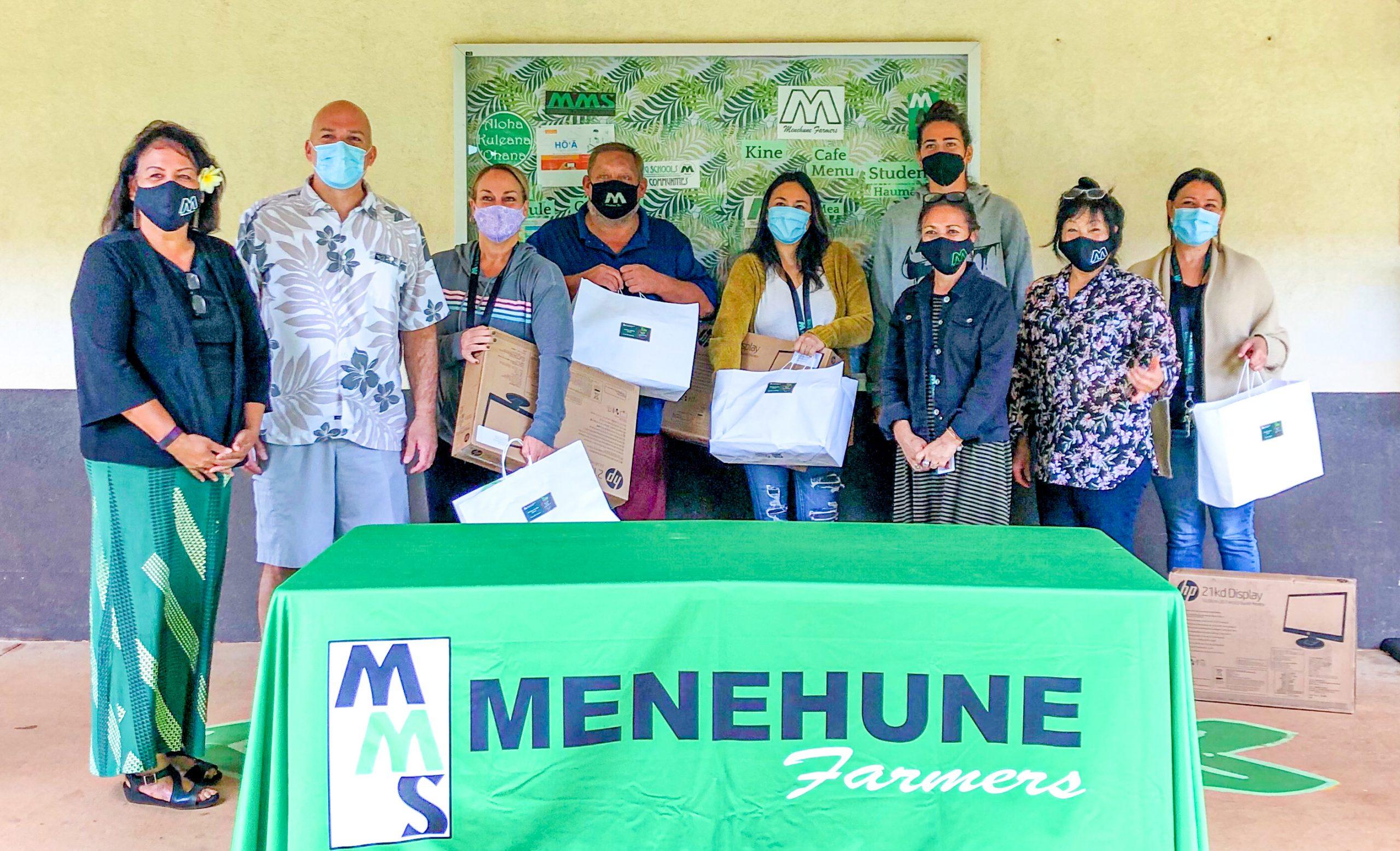 Honolulu Board of REALTORS Donated Technology Kits to 10 Teachers on Molokaʻi