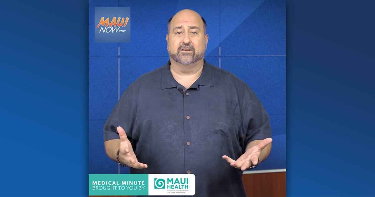 WATCH: Maui Health's Medical Minute Highlights Increased Alcohol and Drug Use During Pandemic