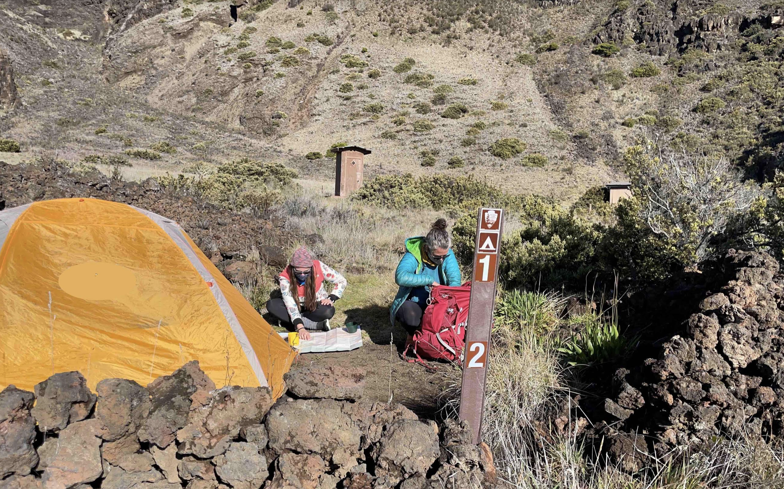 Reservation System Launched for Haleakalā Crater Overnight Wilderness Camping
