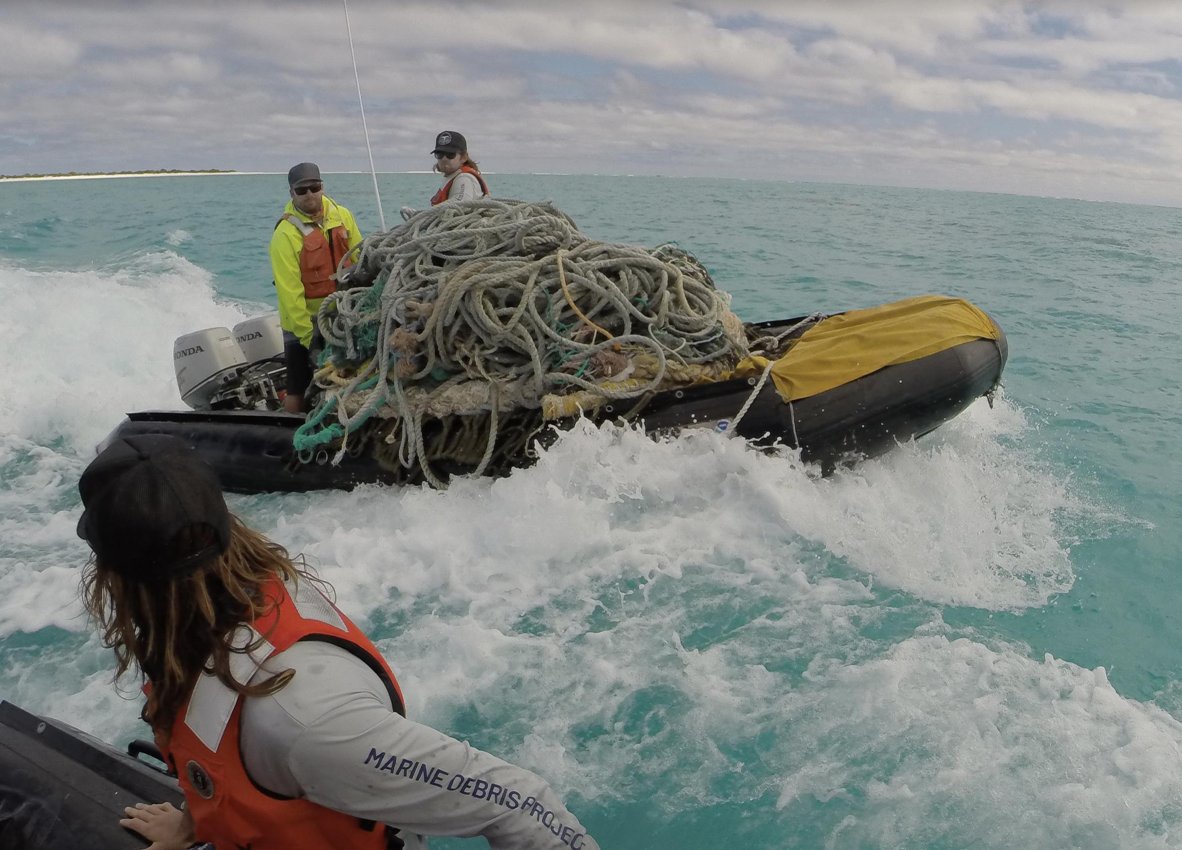 47.2 Tons of Marine Debris Removed from Papahānaumokuākea Marine National Monument