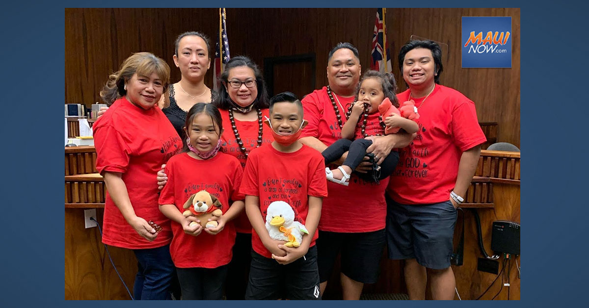 Pagay 'Ohana on Maui Fosters 15 Children