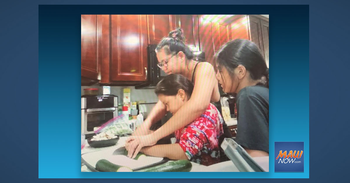 MEO Youth Services Families Cook Up Pasta and Quality Family Time