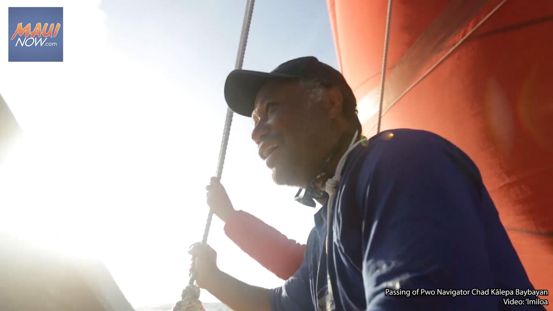 Remembering Hōkūleʻa Crew Member and Pwo Navigator Chad Kālepa Baybayan