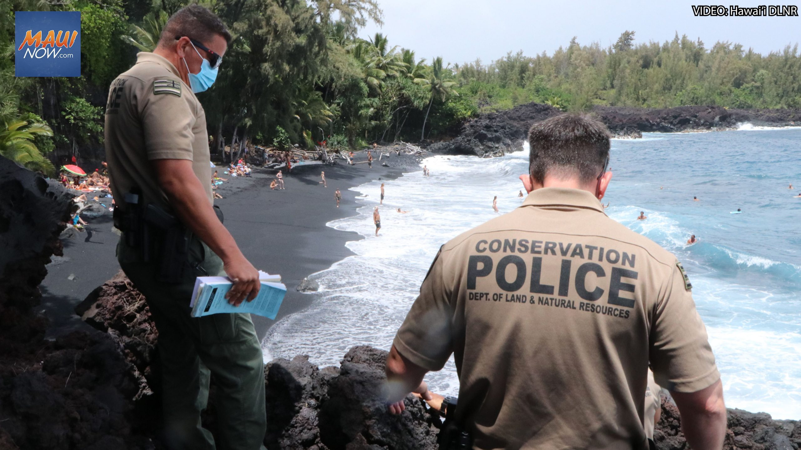 100+ Citations Issued at Kehena Beach in Month-Long Enforcement