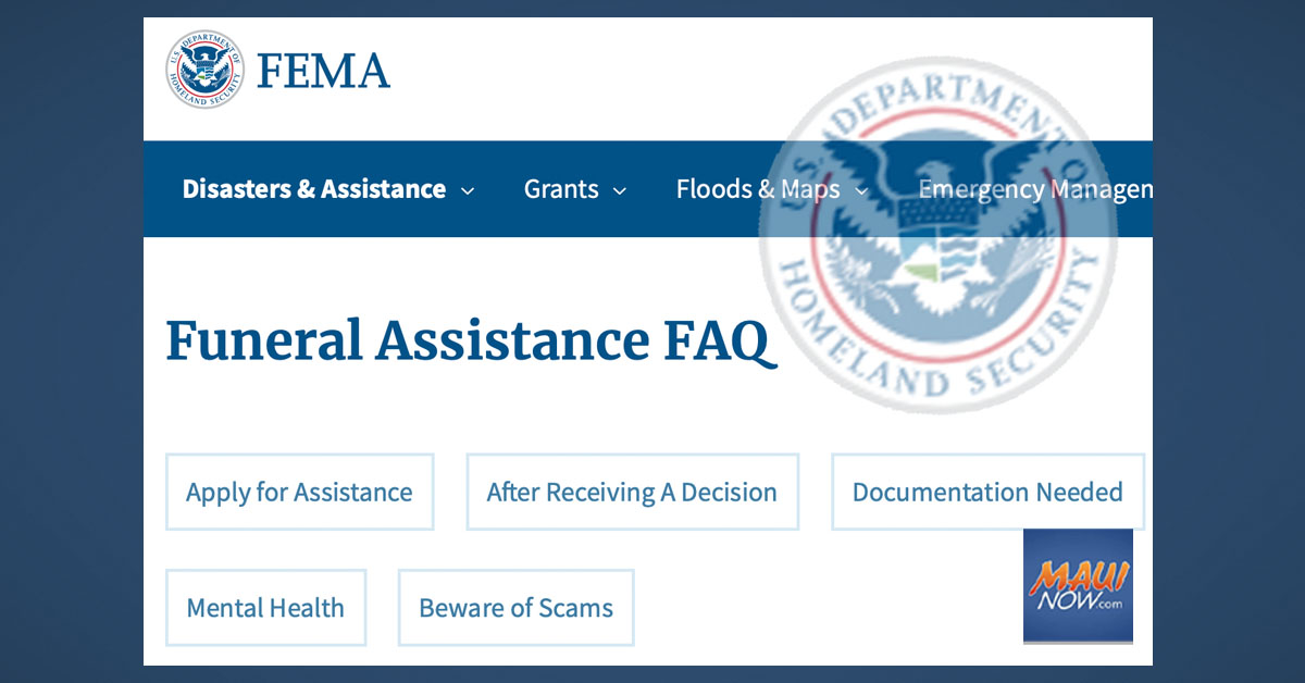 FEMA Now Accepting Applications for Funeral Assistance for COVID-19 Related Deaths