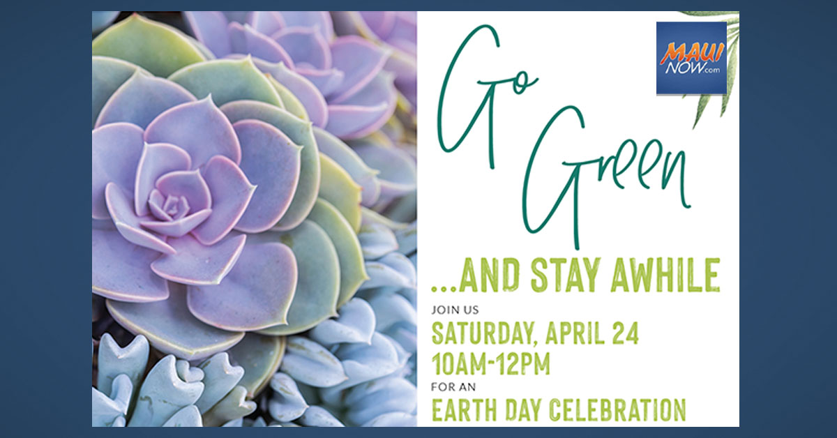 Earth Day Celebration at Maui Mall Village