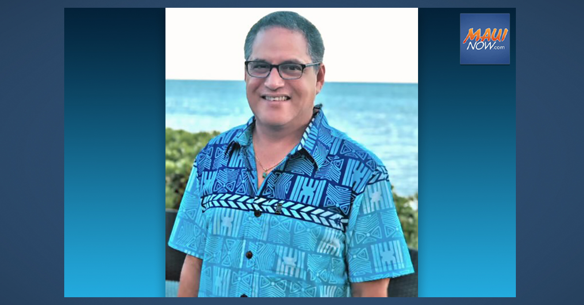 "Senate Majority Leader, J. Kalani English of Maui to Retire Due to ""Long-Haul"" COVID-19 Effects"