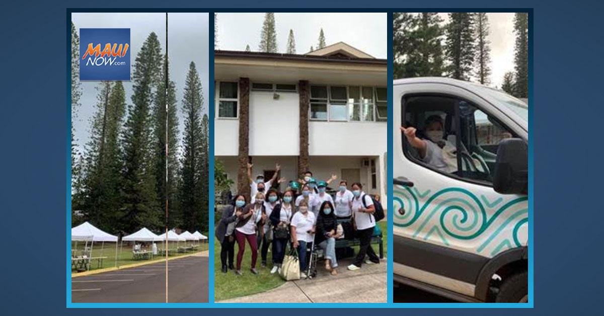 Maui Health Returns to Lānaʻi for Second Dose Vaccinations