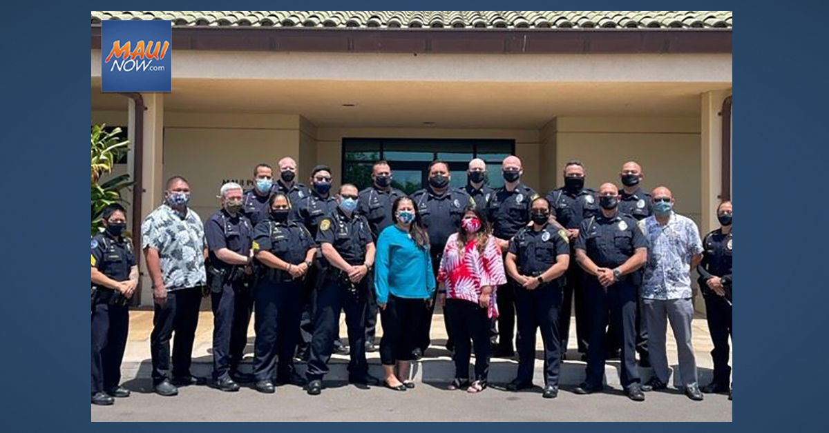 16 New Members Join Maui Police Department's Crisis Intervention Team