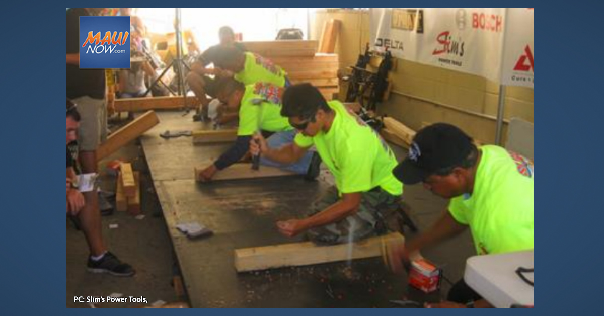Maui Man to Compete in Slim's Power Tools 28th Annual He-Man Competition on O'ahu