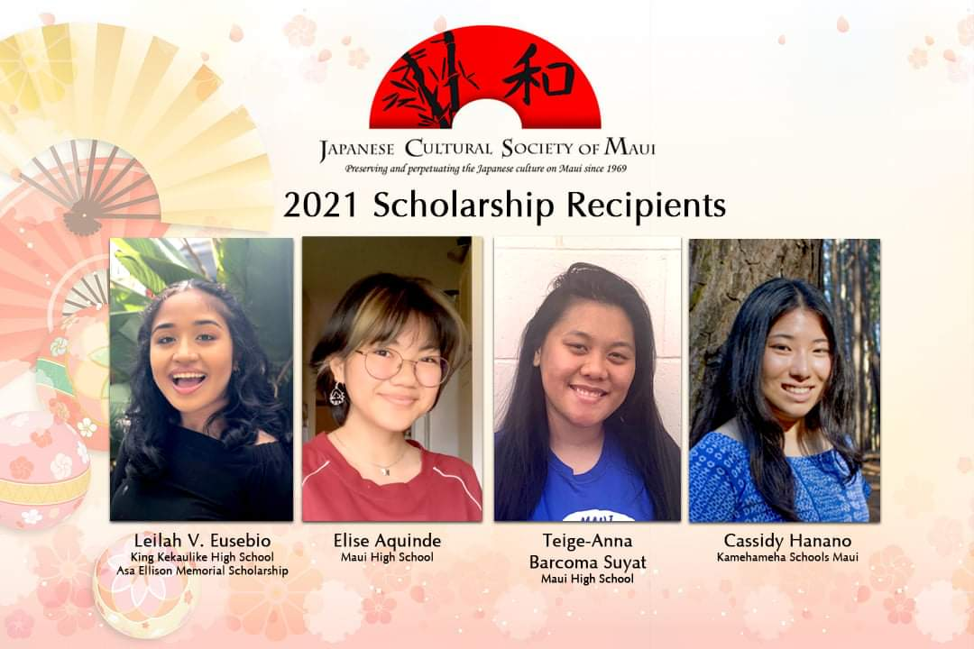 Students Receive Scholarships for Promoting Japanese Language and Culture