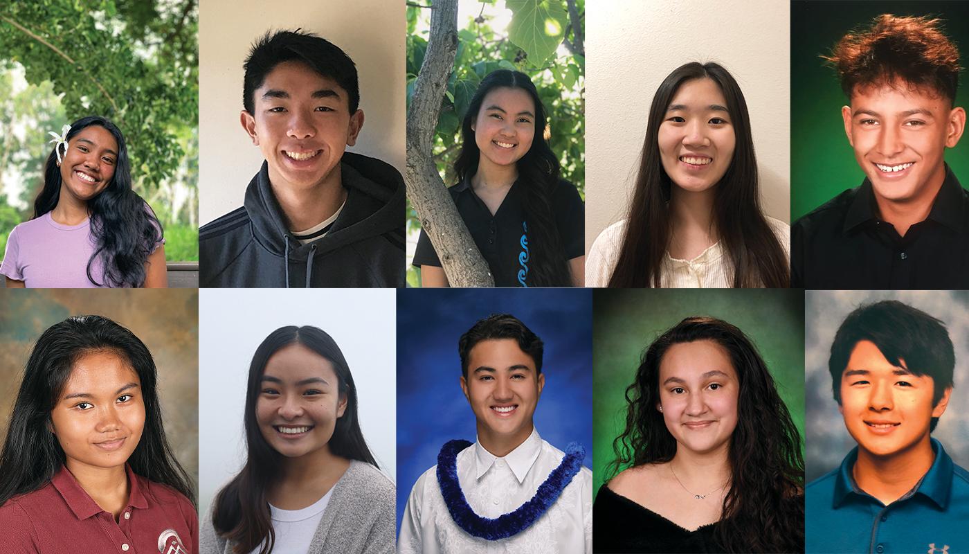 10 Maui, Moloka'i and Lāna'i Students Receive $32,000 in Scholarships