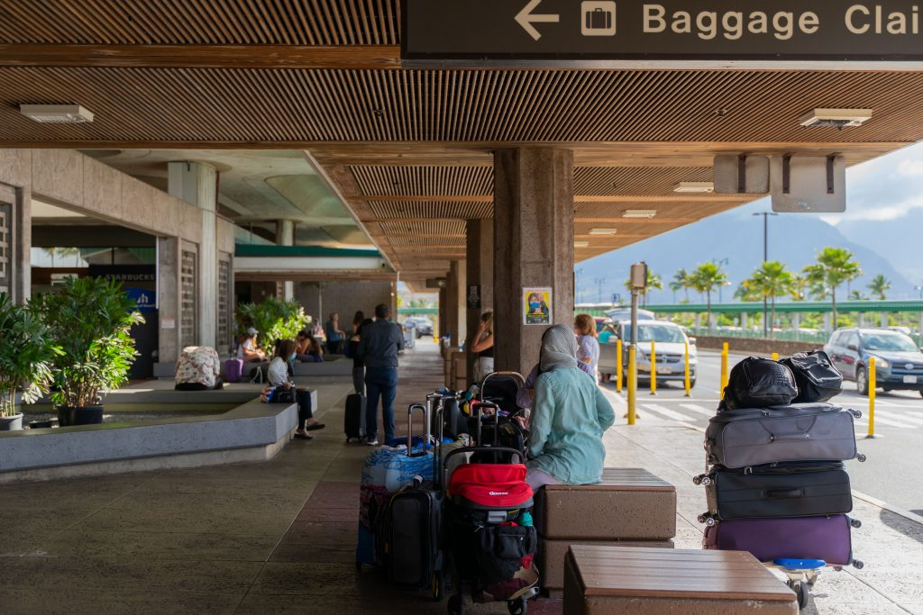 Kahului Airport: May 29, 2021
