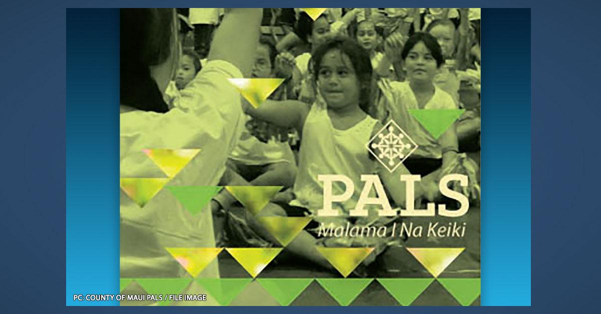 """Registration to Begin for 2021 """"PALS Keiki Kare"""" Summer Program"""