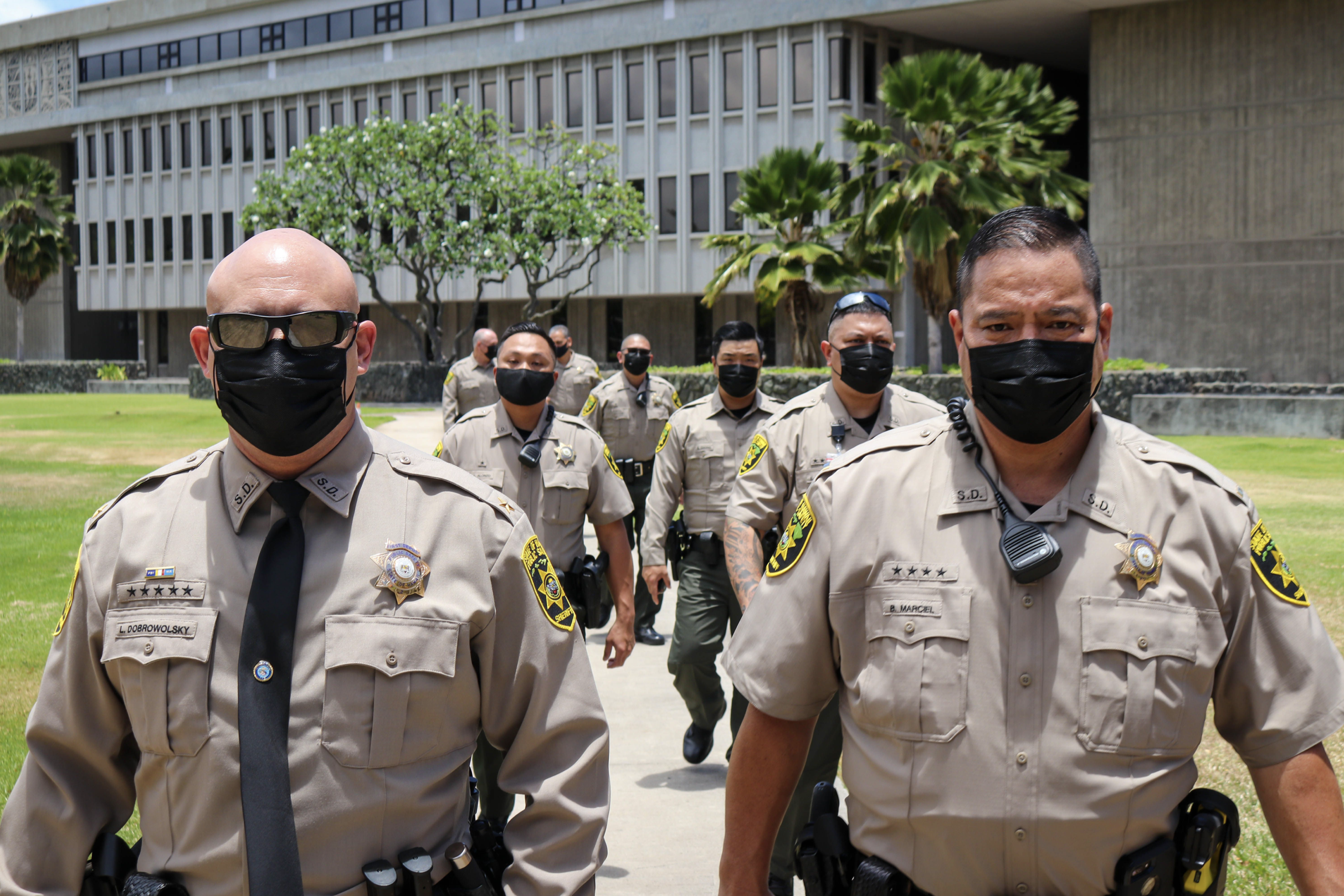 New Uniforms for Department of Public Safety Sheriff Division