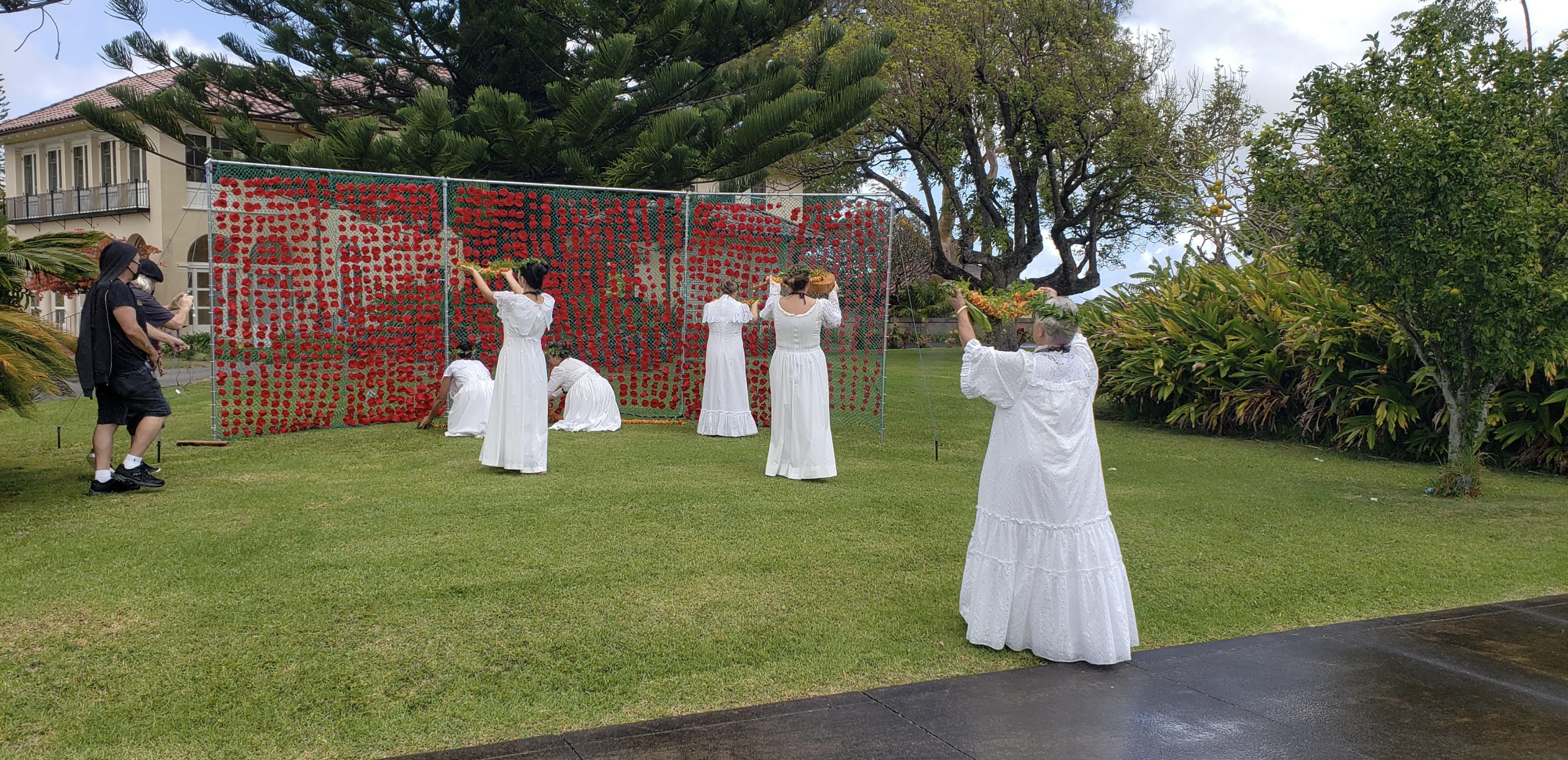 Hui No'eau Art Installation on Maui Honors Lives Lost to COVID-19 in Hawai'i