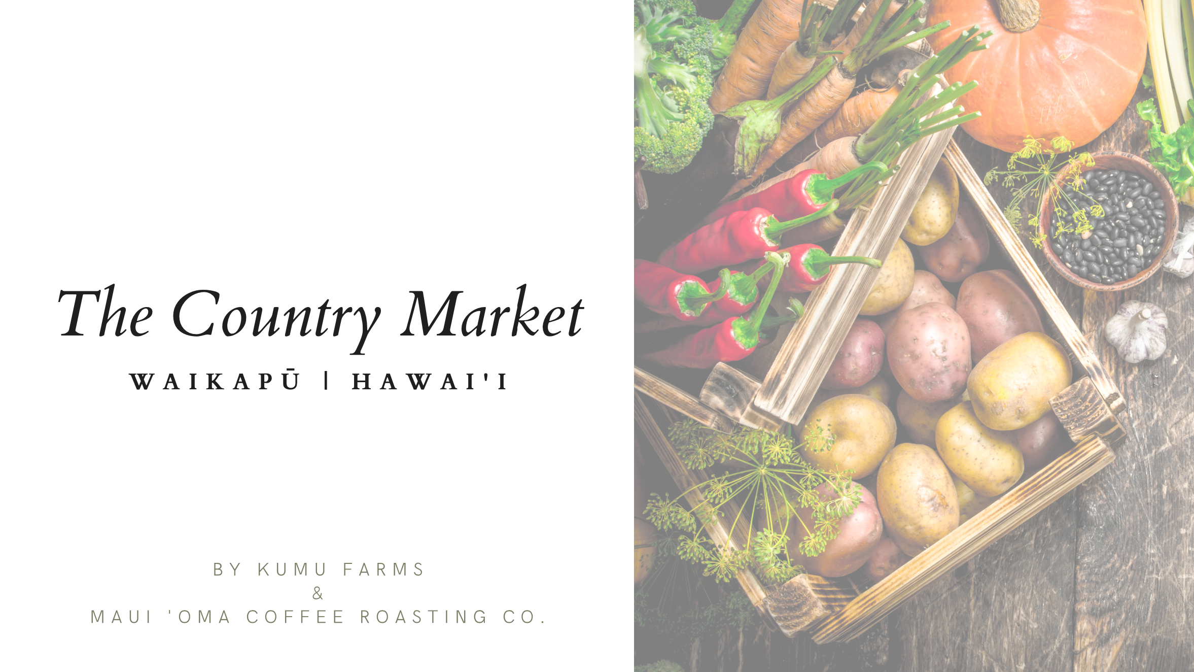 Country Market at Waikapū to Open at Former Maui Tropical Plantation Store