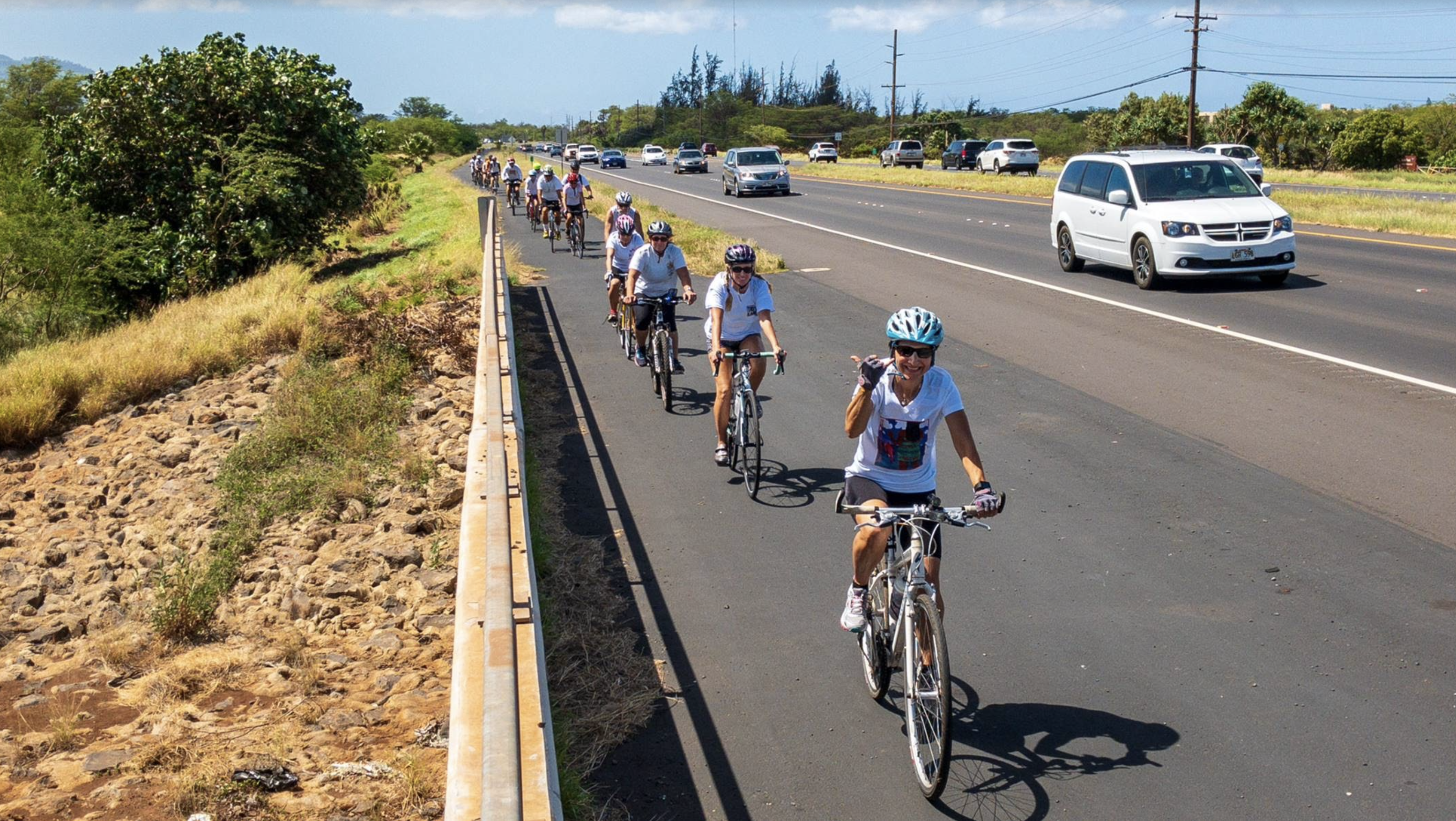 Maui Memorial Ride Held in Honor of Cyclists who Have Been Injured or Killed