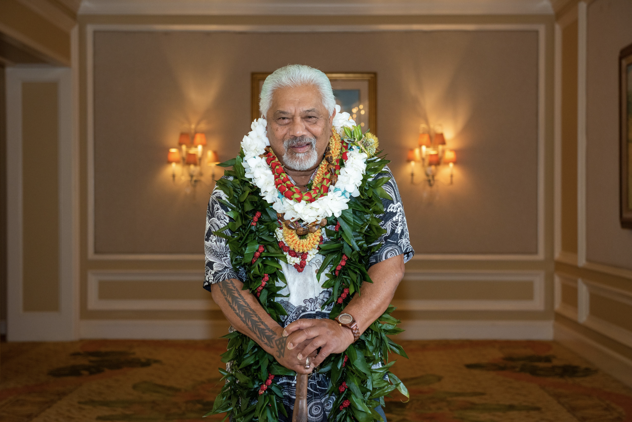 Clifford Nae'ole Honored with Historic Preservation Achievement