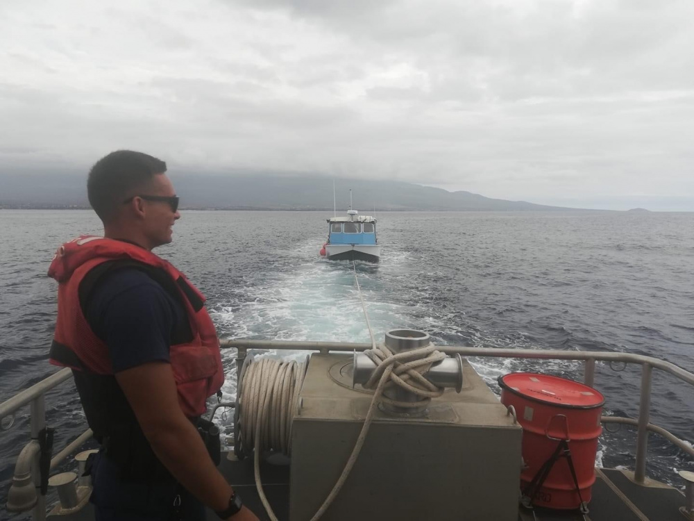 Seaman Assigned to Station Maui Named Coast Guard's Enlisted Person of the Year