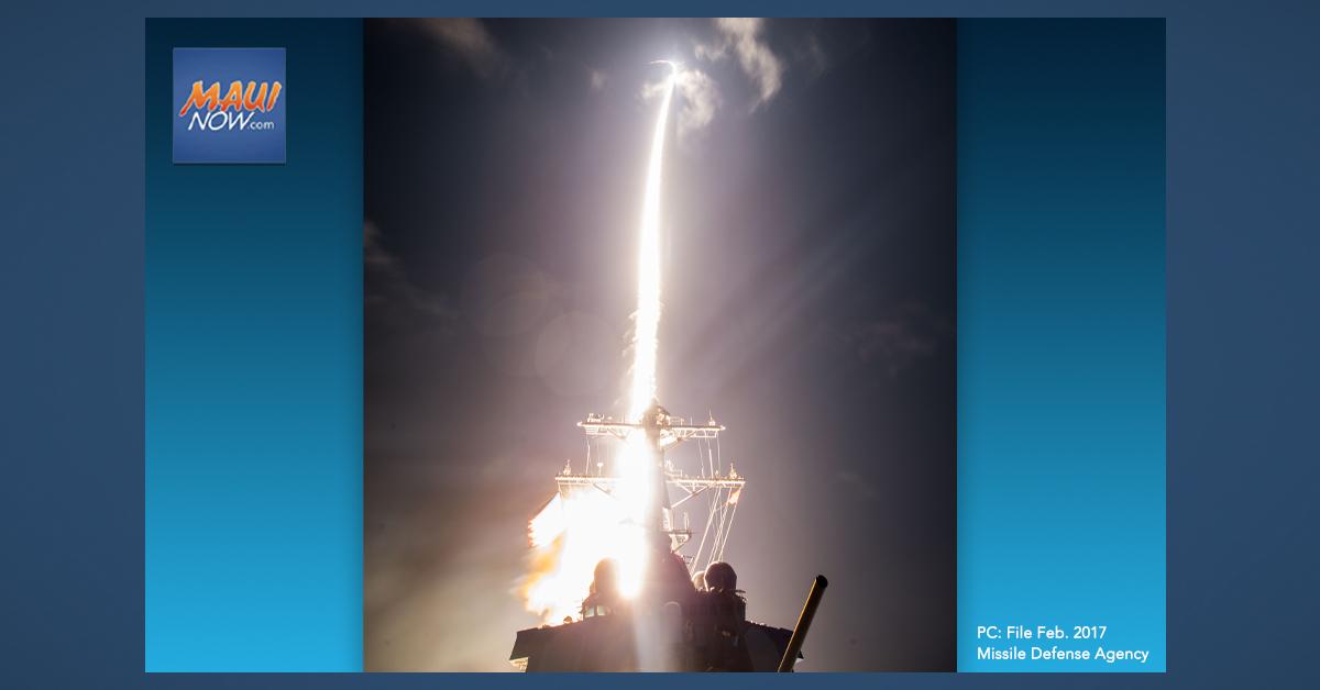Missile Defense Agency Test Does Not Intercept Target