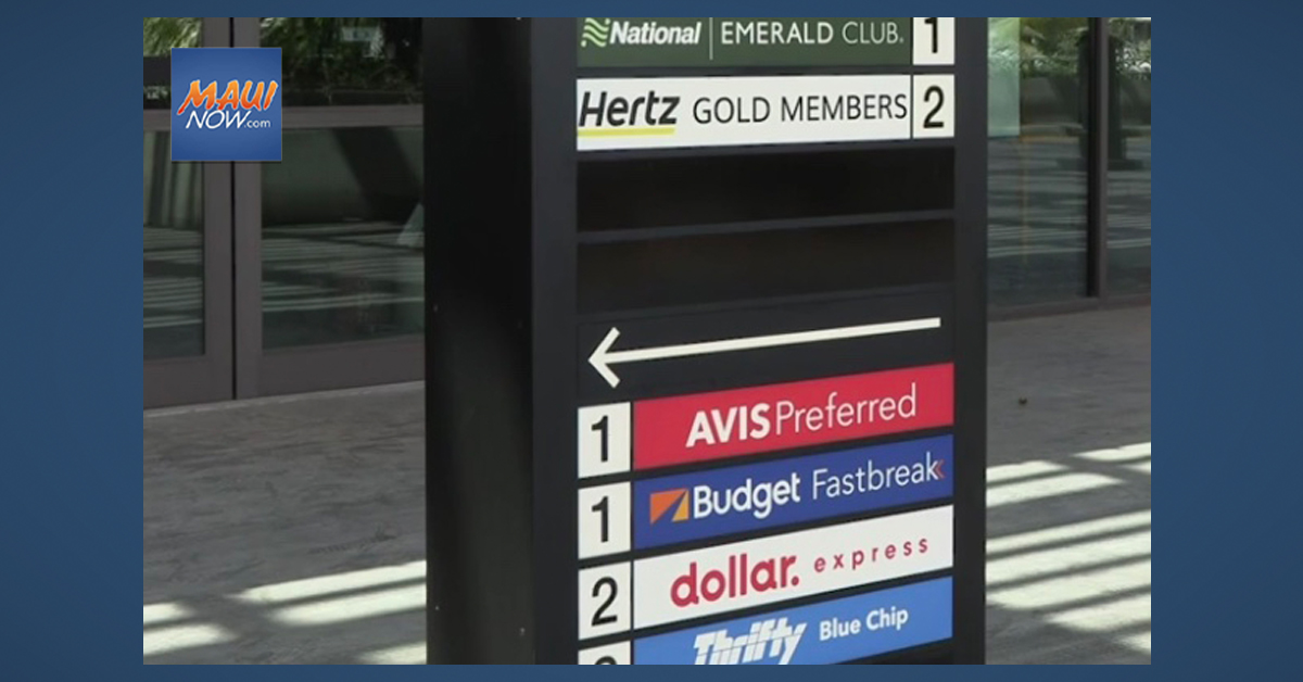 Hawai'i Rental Car Shortage Prompts Tourism Industry Advice to Travelers