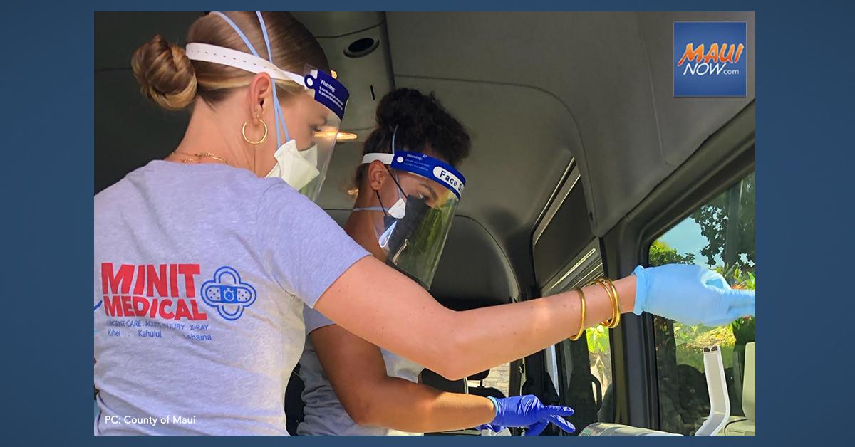Maui Earns National Award for Community-Based COVID-19 Testing Programs
