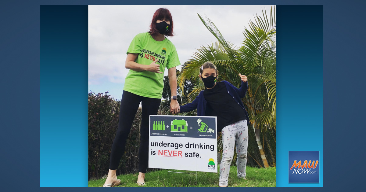 Maui Ordinance to Prevent Underage Drinking Goes Into Effect Sept. 1