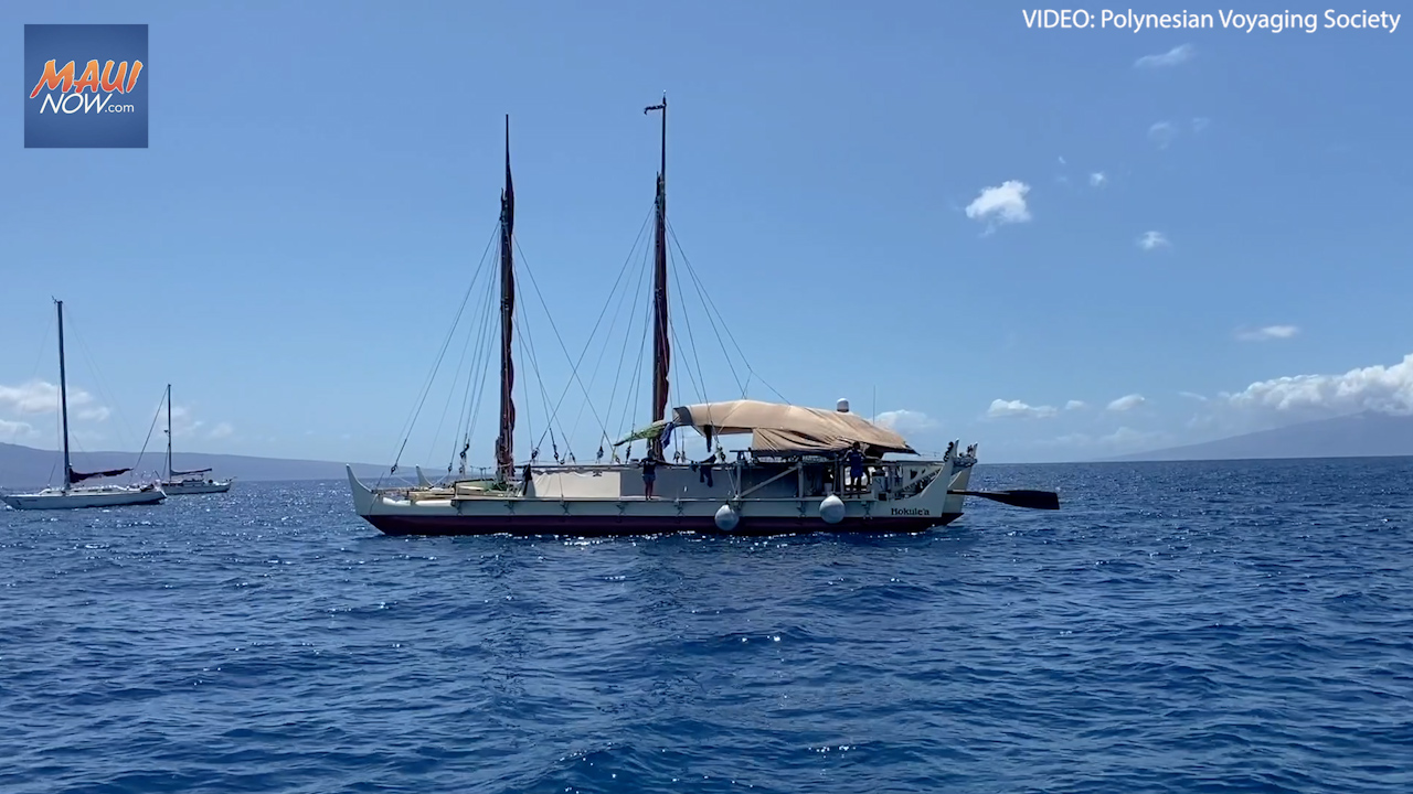 Winds Delay Start of Hōkūleʻa and Hikianalia Training Voyage to Doldrums
