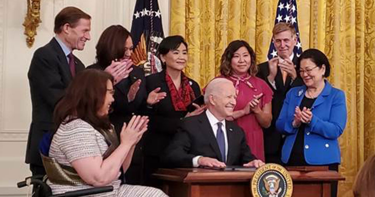 President Biden Signs COVID-19 Hate Crimes Act into Law