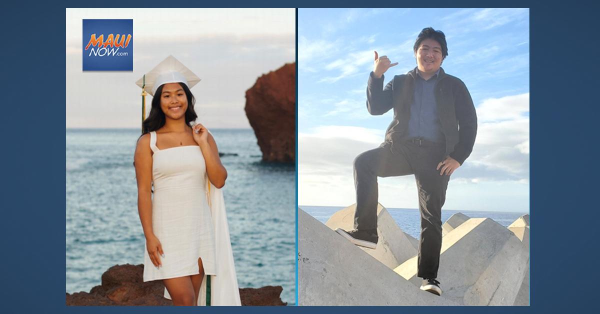 Kukui Mālamalama Scholarships Awarded to Two Lāna'i High School Seniors