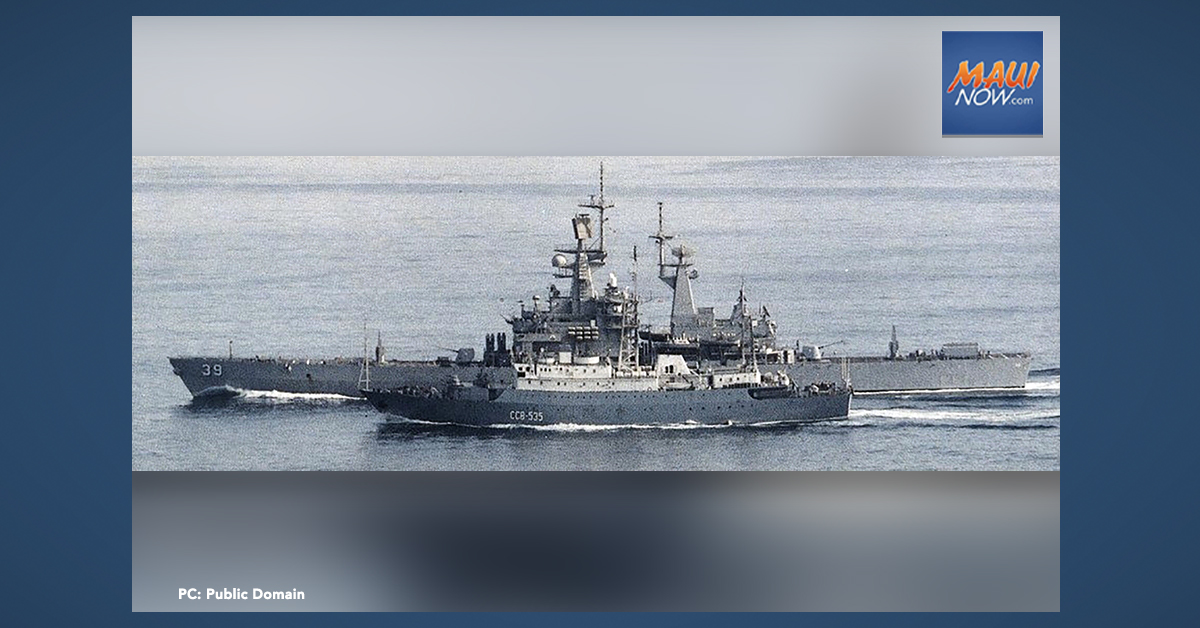 """Navy Comments on """"Russian Hydrographic Vessel"""" Off Hawaiian Islands"""