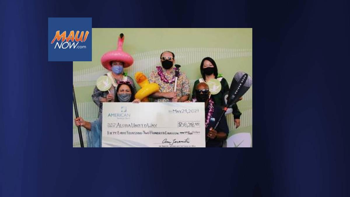 American Savings Bank Crew Donates $360,000 To Support Nonprofits