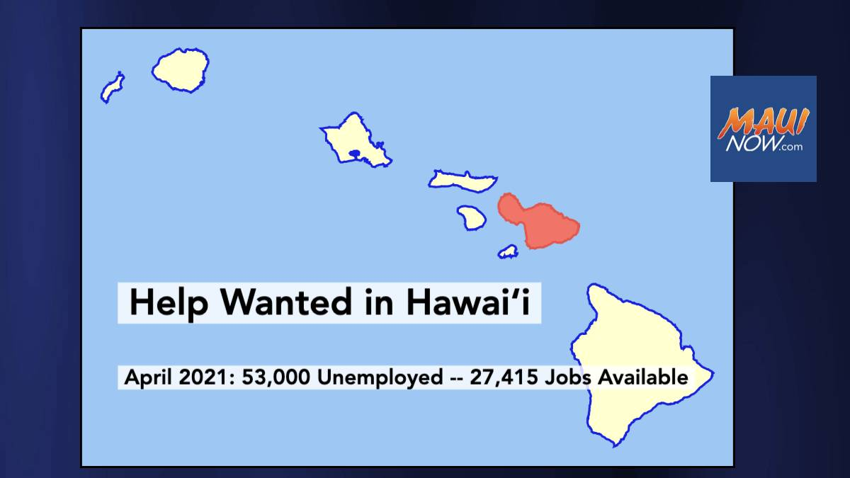 53,000 Unemployed in Hawaiʻi, But State Chamber Dealing with Employee Shortages
