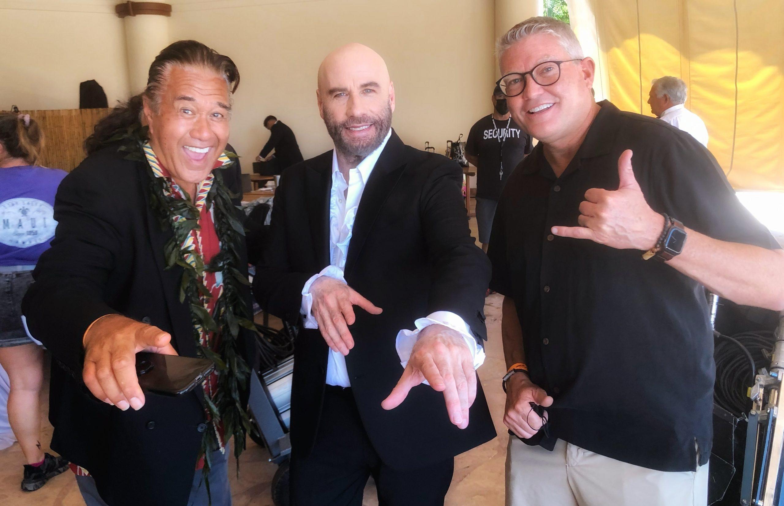 Maui Film Industry Reels Up in 2021: John Travolta, Bruce Willis, Guy Fieri, HBO, Hallmark and More