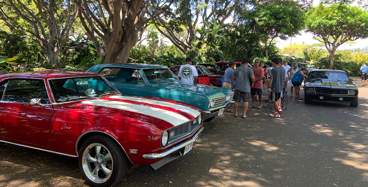 The Shops at Wailea Welcomes Maui Classic Cruisers on Fourth of July