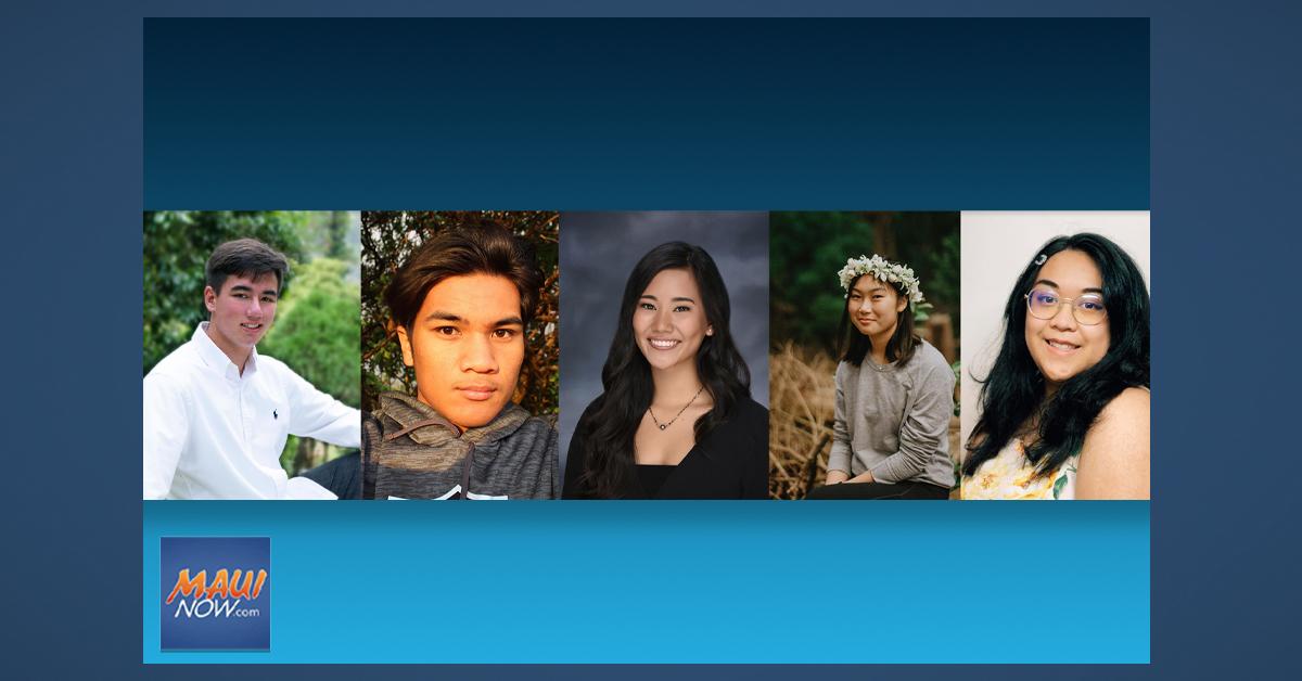 Five Maui County Students Receive Josh and Souk Jerman Foundation Scholarships