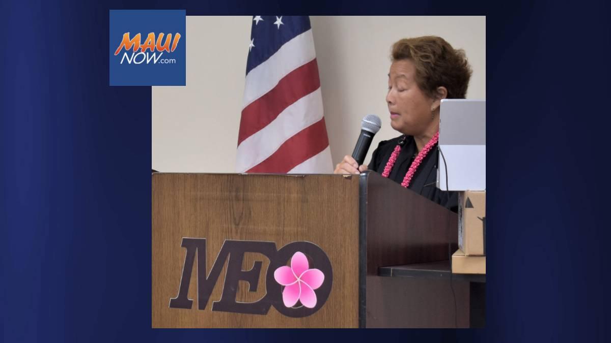 Retired Judge Rhonda Loo Installs MEO Board of Directors for 2021-22