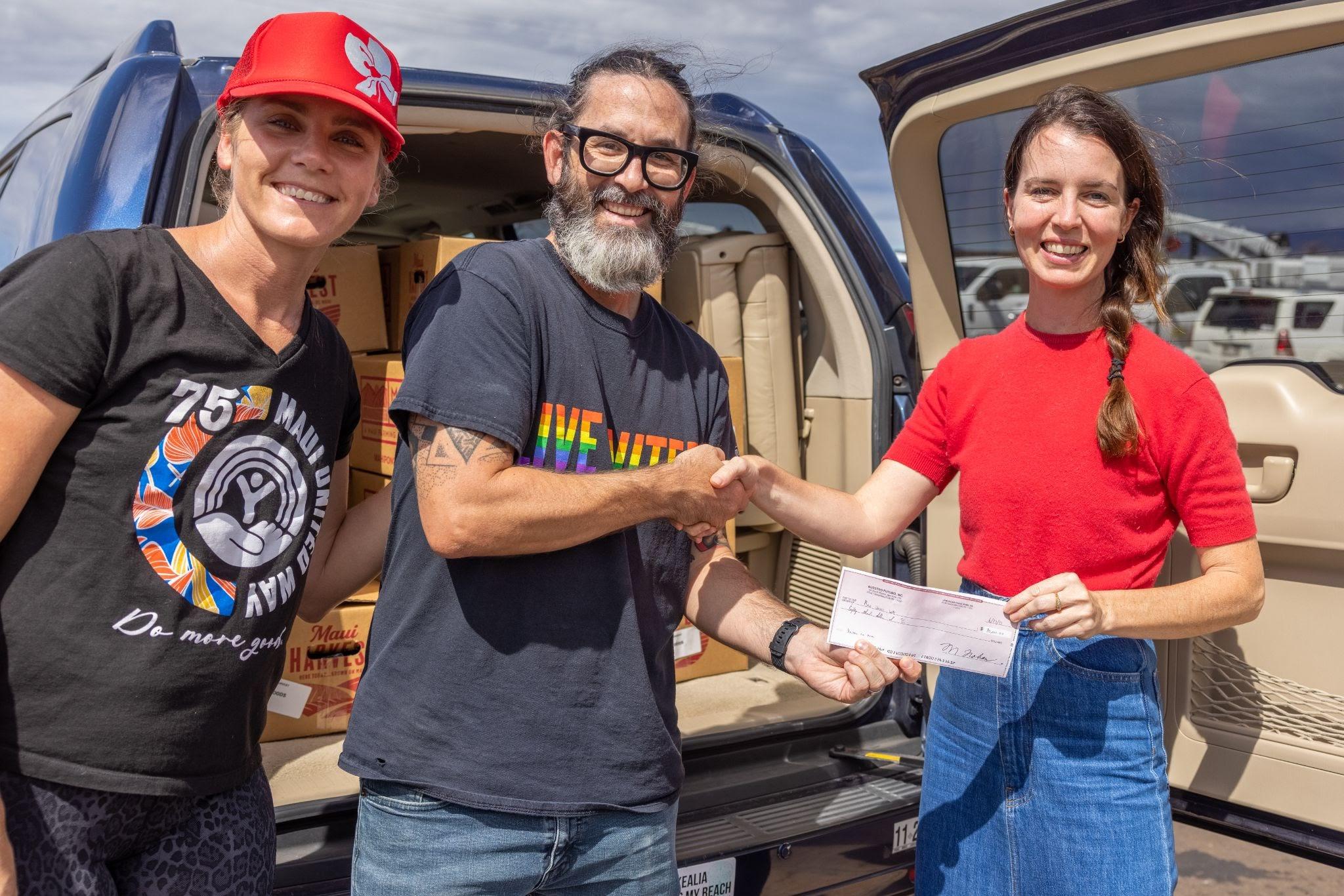 $80K Donated to Maui United Way to Support Kaukau 4 Keiki Summer Meals