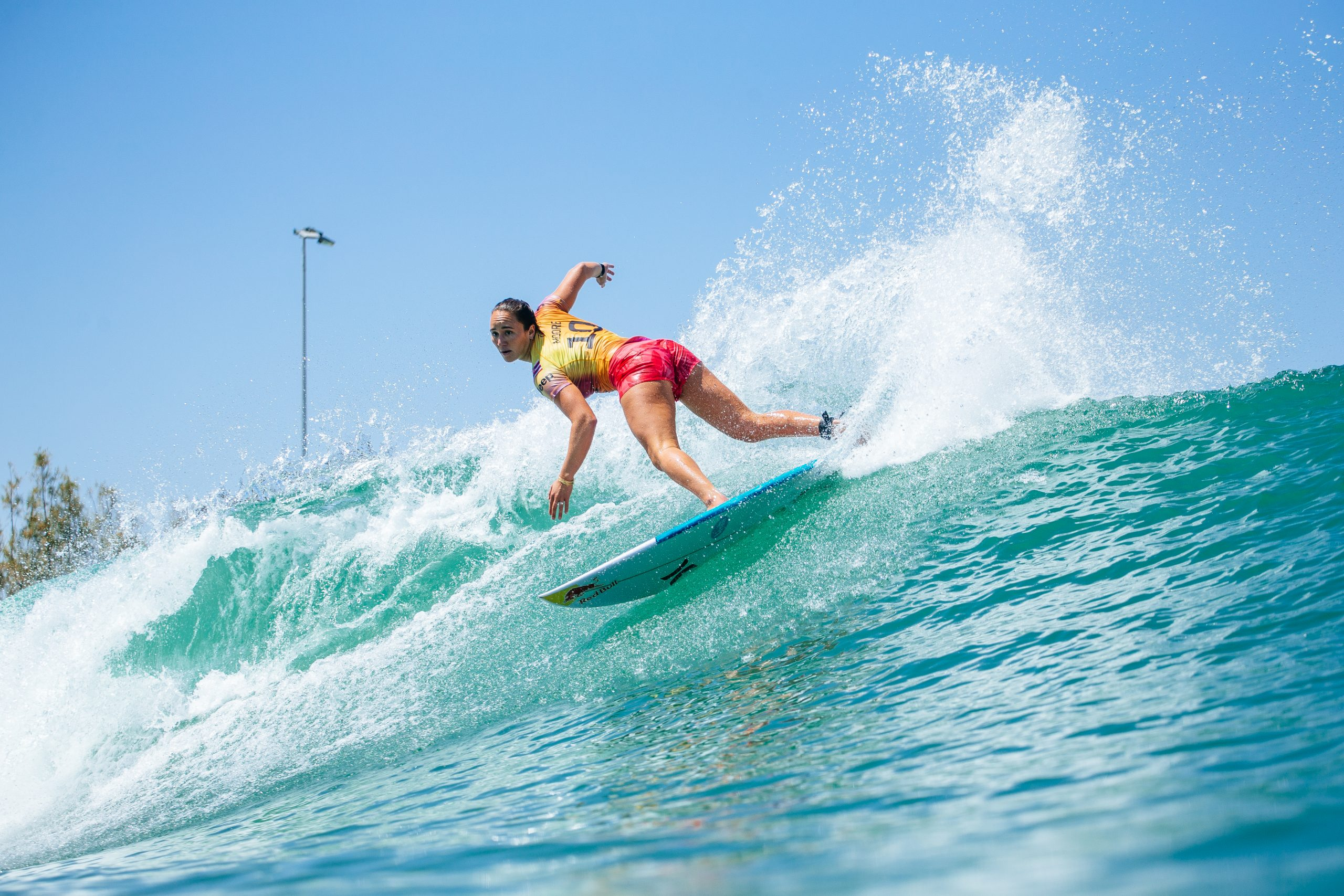 Hawai'i's Carissa Moore in Second Headed into Finals Day at Jeep Surf Ranch Pro