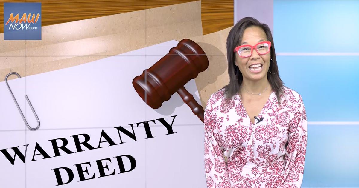 Real Estate Tips: What is a Warranty Deed?